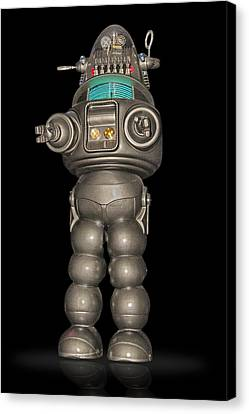 Robby The Robot Canvas Print by Gary Warnimont