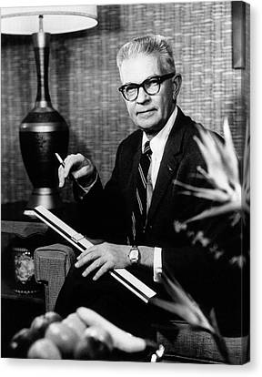 Robert Allan Phillips Canvas Print by National Library Of Medicine