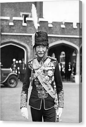 Robert Baden-powell Canvas Print by Underwood Archives
