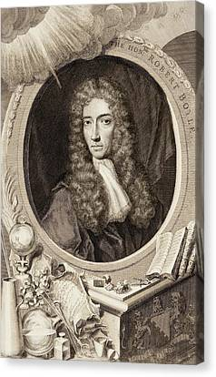 Robert Boyle Canvas Print