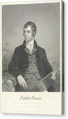 Robert Burns Canvas Print