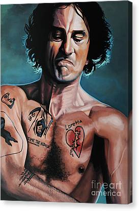 Robert De Niro 2 Canvas Print
