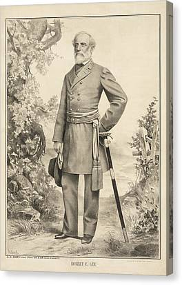Robert E Lee Canvas Print by Bill Cannon
