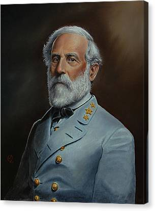 Robert E. Lee Canvas Print by Glenn Beasley