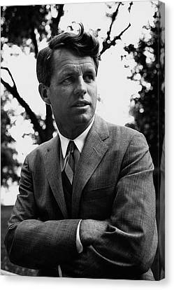 Robert F. Kennedy Wearing A Suit Canvas Print