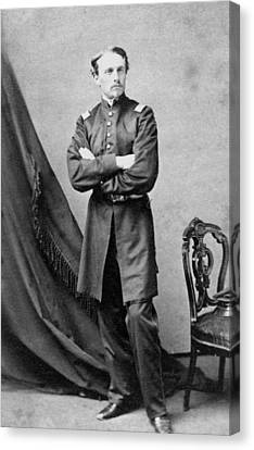 Robert Gould Shaw Canvas Print by War Is Hell Store