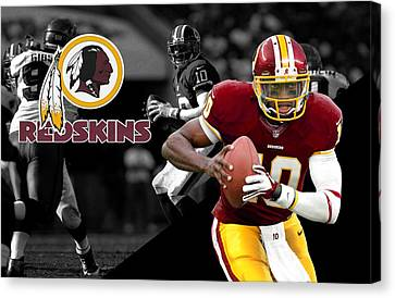 Robert Griffin IIi Redskins Canvas Print