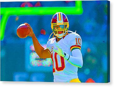 Robert Griffin IIi   Rg 3 Canvas Print
