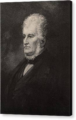 Robert Hare (1781-1858) American Chemist Canvas Print by Universal History Archive/uig
