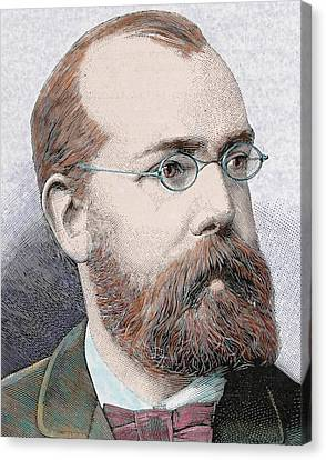 Robert Koch (clausthal, Near Hanover Canvas Print by Prisma Archivo