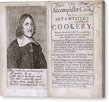 Robert May Canvas Print by British Library