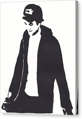 Robert Pattinson 111 Canvas Print