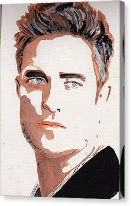 Robert Pattinson 144 Canvas Print