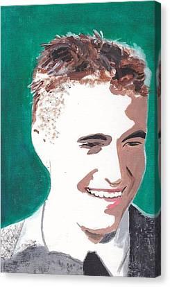 Robert Pattinson 146 A Canvas Print