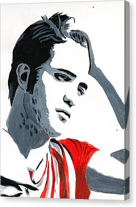 Robert Pattinson 77 Canvas Print