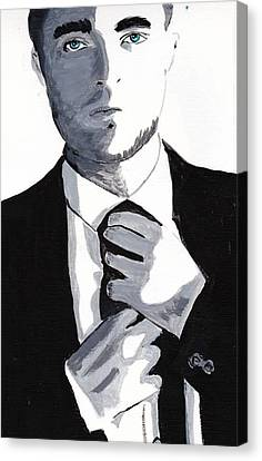 Robert Pattinson 80 Canvas Print