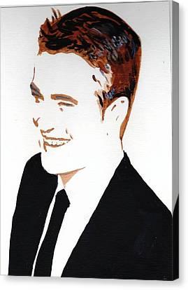 Robert Pattinson 87 Canvas Print