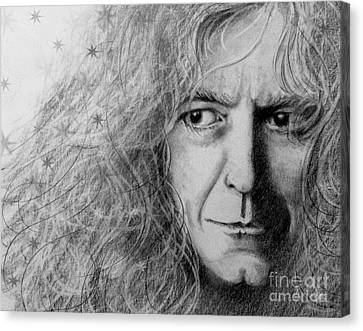 Robert Plant Canvas Print by Patrice Torrillo