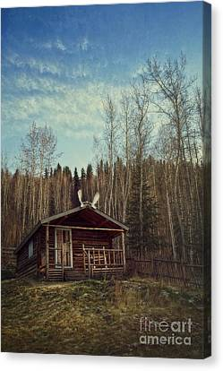 Robert Service Cabin Canvas Print