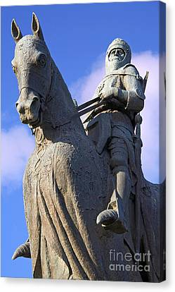 Robert The Bruce King Of Scots  Canvas Print