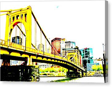 Roberto Clemente Bridge Canvas Print