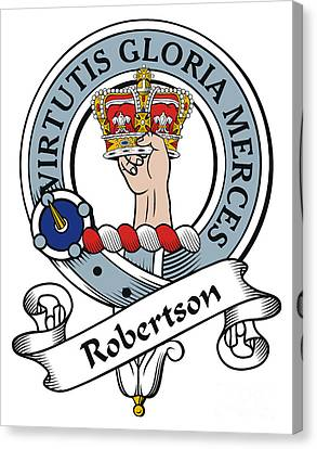Robertson Clan Badge Canvas Print