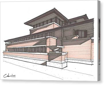 Robie House Canvas Print