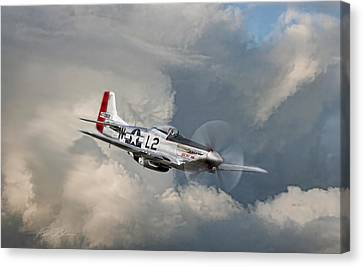 Robin Olds Scat Vll Canvas Print by Peter Chilelli