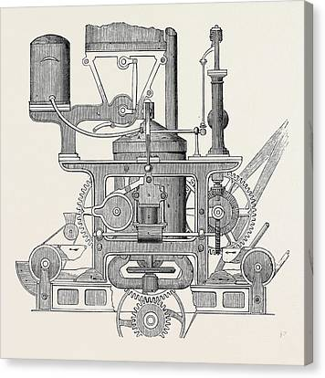 Robinson And Lees Patent Bread Making Machine Canvas Print