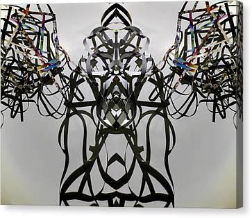 Robo Canvas Print by Citpelo Xccx