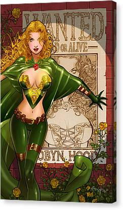 Robyn Hood 03e Canvas Print by Zenescope Entertainment