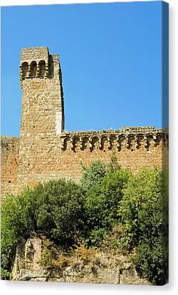 Rocca Aldobrandesca, (11th Century Canvas Print