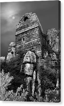 Roche Rock Canvas Print by Debra Jayne