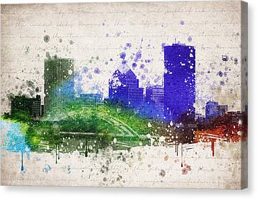 Rochester In Color Canvas Print