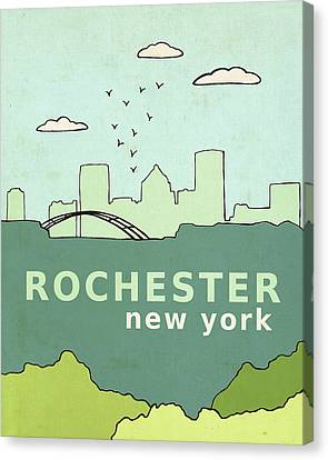 Rochester Canvas Print by Lisa Barbero