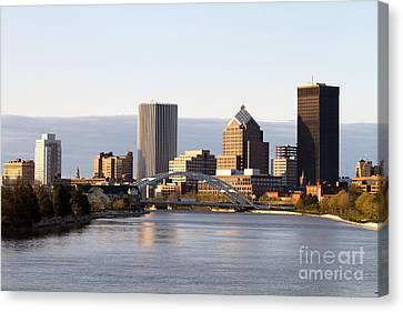 Rochester New York Skyline Canvas Print