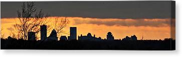 Rochester Skyline Canvas Print