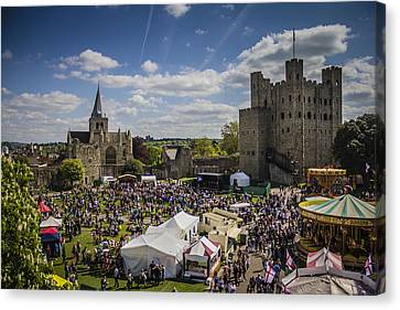 Canvas Print - Rochester Sweeps Festival by Dawn OConnor