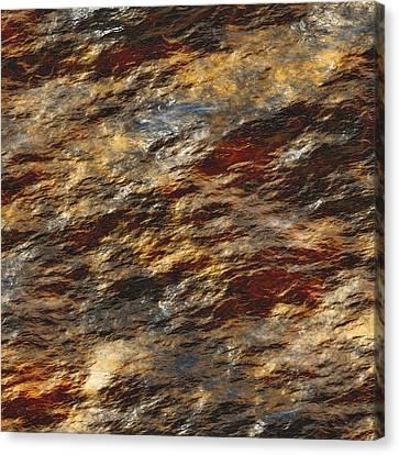 Rock Abstract 01 Canvas Print by Georgiana Romanovna
