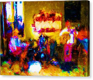 Rock Band Canvas Print