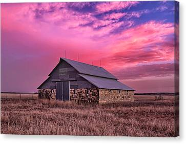 Rock Barn Canvas Print