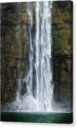 Rock Bottom Canvas Print by Bill Wakeley