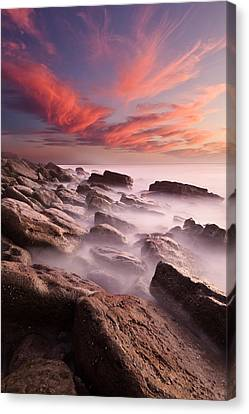 Rock Caos Canvas Print by Jorge Maia