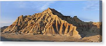 Navarre Canvas Print - Rock Formation Bardenas Reales Navarra by Albert Lleal