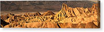 Rock Formation On A Landscape Canvas Print by Panoramic Images