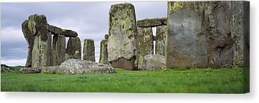 Rock Formations Of Stonehenge Canvas Print