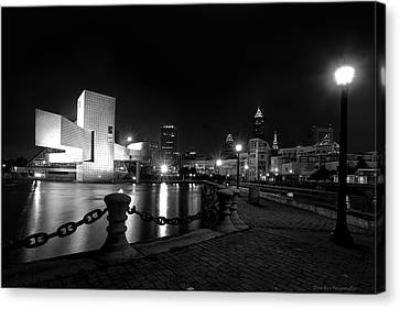 Rock Hall And Great Lakes Science Center Canvas Print