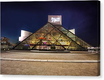 Canvas Print featuring the photograph Rock Hall by Brent Durken