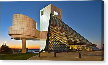 Rock Hall Stones Tribute Canvas Print by Frozen in Time Fine Art Photography