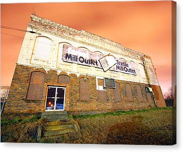 Rock Hill Cotton Factory Canvas Print